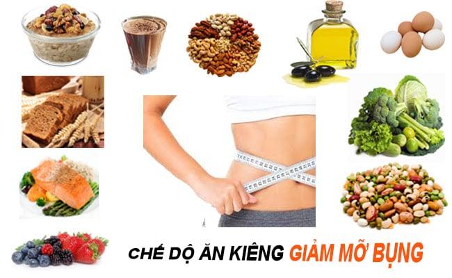 thực phẩm ăn kiêng giảm cân